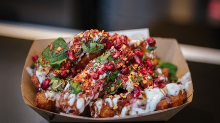 Colourful and fragrant halloumi fries from Oli Baba's will be available at Camden Lates