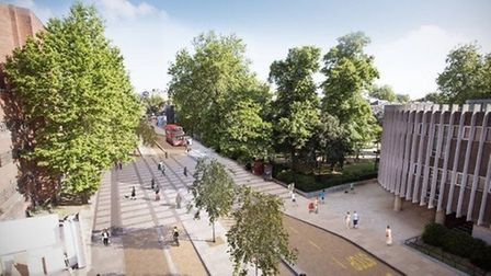 What CS11 could look like were it to go ahead. Picture: TfL
