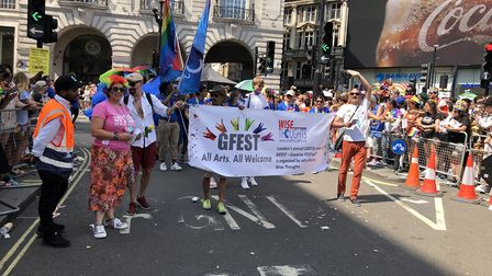 Haringey BME LGBT+ charity Wise Thoughts on last weekend's march