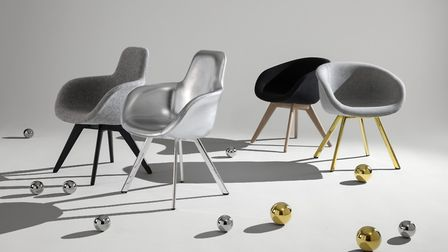 Tom Dixon's Scoop Chairs, available to purchase online and in the Kings Cross shop.