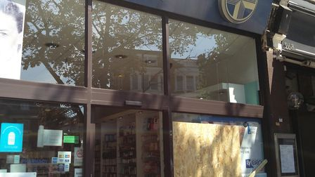 The Ramco pharmacy on West End Lane was broken into. Picture: Sam Volpe