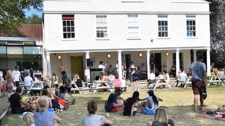 A picnic concert featuring young musicians from Highgate School, on the Tea Lawn at Lauderdale House