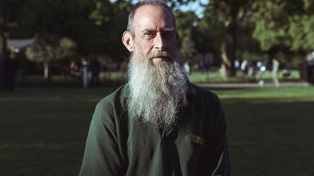 London Fields park keeper Phil Sharp. Picture: Andy Donohoe
