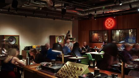 Spiritland, the audio-cafe and restaurant in Kings Cross where the events will take place, has a wor
