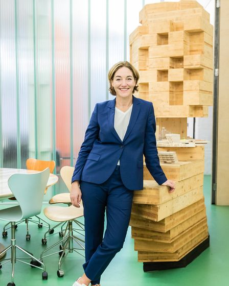 Sadie Morgan, founding director of architecture practice dRMM, will host the second dinner and discu