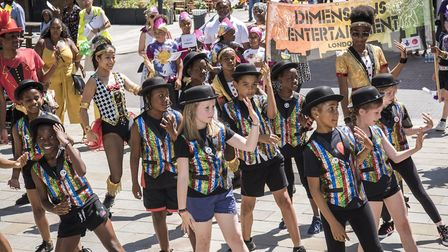 Colvestone Primary School, who worked with Dimensions Entertainment, picked up the award for best da