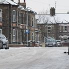 The snow in Lowestoft, where First Bus services have been affected. Picture: ANDREW PAPWORTH