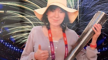 Lucinda Graymore was delighted to be a Games Maker at the London Olympics. Picture: The Graymore fam