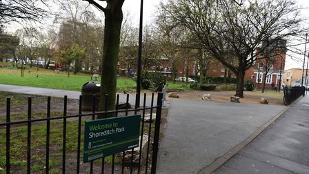Shoreditch Park is under threat from development of the Crossrail 2 project.