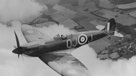 A Spitfire flown by the RAF in World War Two .Picture: Archant Library