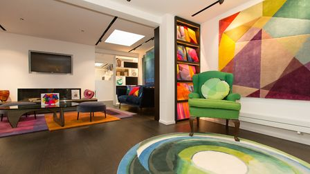 Colourful Dartmouth Park showroom