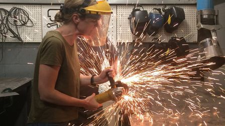The workshops are aiming to get women into the construction industry.