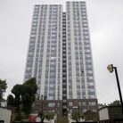 Chalcots Estate in Camden, London, where residents were evacuated over fire safety fears. Picture: P