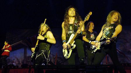 Iron Maiden performing at Reading Festival in 2005. Picture: Yui Mok/PA Archive
