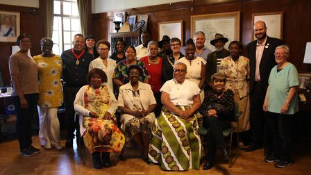 Elders in the community with Cllr Anntoinette Bramble and mayor Phil Glanville at the council's Wind