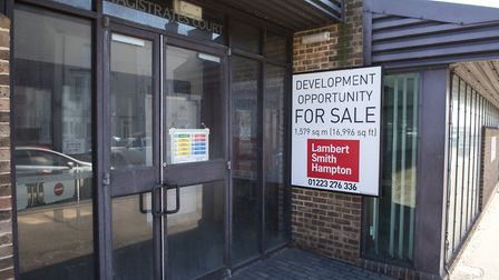 The former Lowestoft Magistrates' Court building has been shut for two years. Picture: Nick Butcher