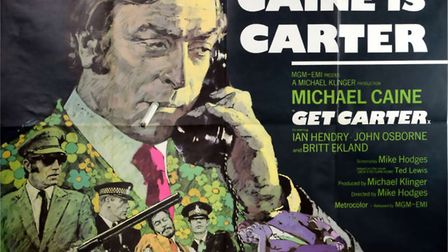 Derek East's Get Carter poster fetched the top amount as his collection went to auction