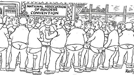 The National Builders Convention cartoon by Ken Pyne