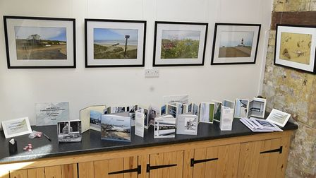 John Walker has been showcasing examples of coastal erosion in his recent exhibition. Picture: John