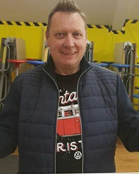 Peter Lang after losing six stone. Picture: Courtesy of Peter Lang.