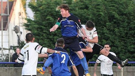 Marc Weatherstone in action for Wingate & Finchley during his first stint at the club (pic: Martin A