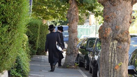 A general view of a Stamford Hill street. Picture: Polly Hancock