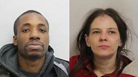 Delaney Foster and Sophie McDonnell have both been convicted of robbery. Picture: Metropolitan Polic