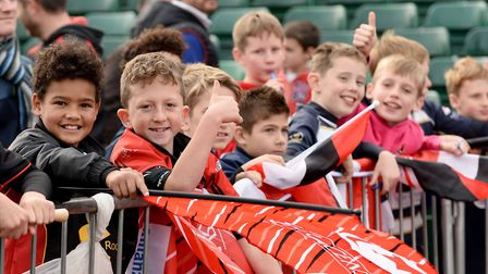 Saracens welcomes fans of all ages.