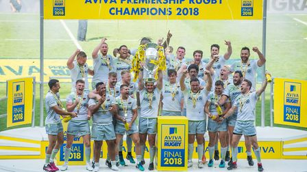 Saracens won the Aviva Premiership last season in a thrilling final against Exeter Chiefs and Sarace