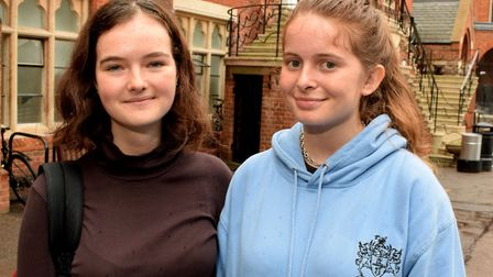 At Highgate School, Maisie Pedder and Alexa Chambers both scored 4A*s. Photo: Polly Hancock
