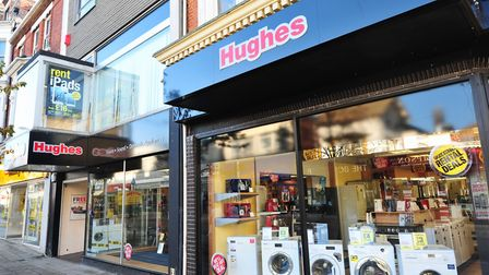 The Hughes electrical store in Lowestoft. Picture: Nick Butcher.