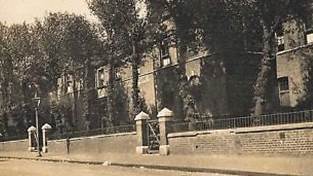 The German Orphanage, Norfolk Road (now Cecilia Road), Dalston. 1930.