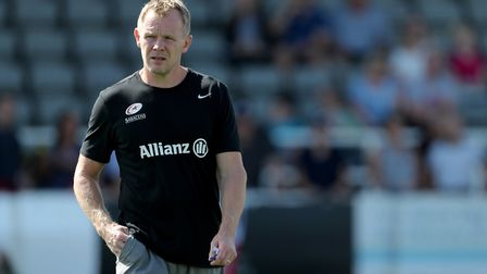 Saracens Director of Rugby Mark McCall (pic Richard Sellers/PA)