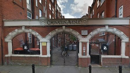 The girls were playing in Coronation Avenue when they were 'grabbed' by a stranger. Picture: Google
