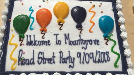 Mountgrove Road was closed to traffic for a street party