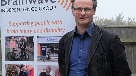 Waveney MP Peter Aldous attended to show his support for the charity. Picture: Howard Thomas
