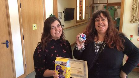Staff and residents took part in a special Easter event at Harleston House. PICTURE: Julie Goddard