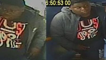 The suspect in the Muswell Hill W7 bus robbery. Picture: Metropolitan Police