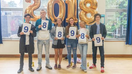 North Bridge House Senior Hampstead students achieved an impressive 34% Grade 8s and 9s.. Photo by N