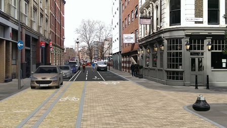 Plan to turn St Paul Street in Shoreditch into London's first 'electric' thoroughfare