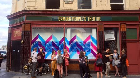 Fiona Grady's Cross Sections exhibition is on display at Camden People's Theatre until September 9