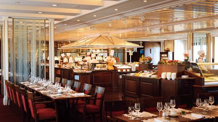 Opulent down to every last detail, Imperial Hotel has the culinary scene to match
