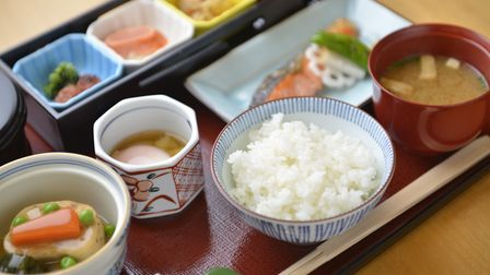 Guests can enjoy authentic fare like this Japanese Breakfast by Nadaman