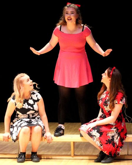 'Naughty' from Matilda was performed. Picture: Ella-Rose Harrison-Reeve