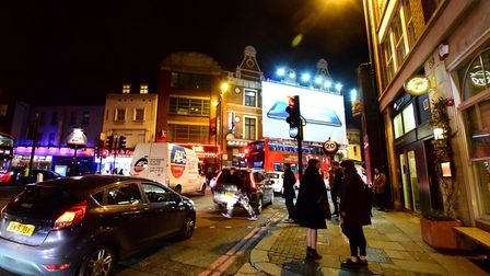 Nightlife in Shoreditch. Picture: POLLY HANCOCK