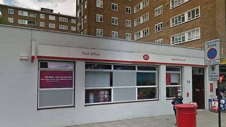 St John's Wood Post Office in Circus Road is set to move. Picture: Google Maps