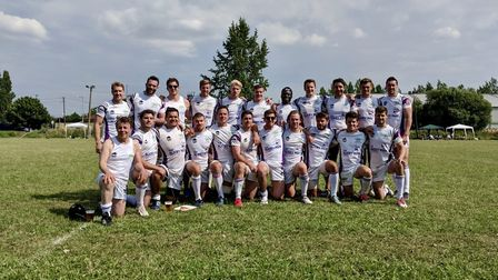 Belsize Park after winning the Budapest 7s in Hungary (Pic: Belsize Park)
