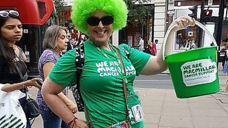 Viv Cohen is fundraising to give back to Macmillan nurses who helped her at the Whittington. Picture