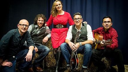 Papa Truck are a bluegrass band who have supported Viv before. Picture: Papa Truck