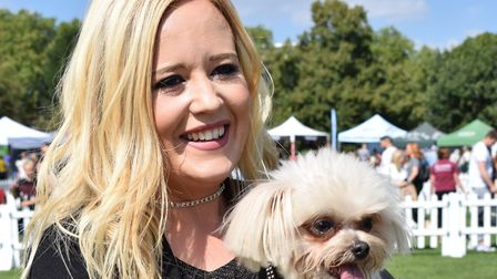 Britain's Got Talent performers Trip Hazard at the Pup Aid dog show. Picture: Polly Hancock